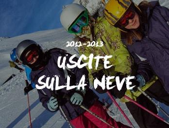 Uscite sulla neve 2013